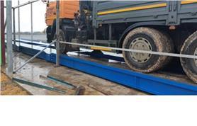Автовесы ВАЛ запущены в работу. Заказчик самостоятельно строит весовой ангар.