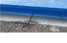 Прокладка сигнального кабеля автомобильных весов до помещения весовой