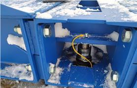 Зима, Россия! Автомобильные весы до 80 тонн типа ВАЛ  80-18