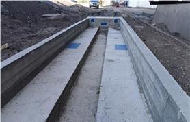 Фундамент под вагонные весы длиной 14,5 метров до 150 тонн