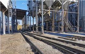 Вагонные весы БАМ в количестве 3-х единиц установлены на предприятии по переработке злаковых культур непосредственно в месте загрузки вагонов