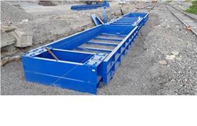Установка вагонных весов бесфундаментного типа БАМ 14,5-150 (до 150 тонн) на щебеночное основание