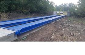Монтаж автомобильных весов типа ВАЛ-М- 60/30-18 на монолитный плитный фундамент