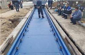 Сдача в поверку вагонных весов БАМ производится с участием весоповерочной  лаборатории РЖД