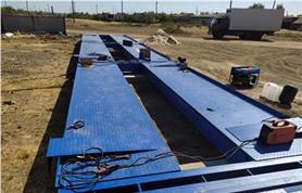 Монтаж и пусконаладка автомобильных весов до 80 тонн