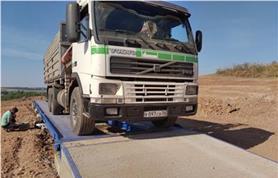80 тонные автовесы 24 метра на бетонном фундаменте (тип ВАЛ
