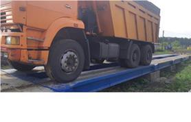 Автомобильные весы до 100 тонн в работе (ВАЛ-100-20)
