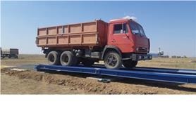 Взвешивание урожая зерна на автомобильных весах колейного типа ВАЛ-М- 80/40-24