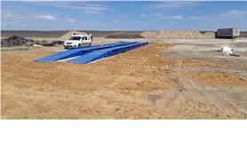 Автовесы ВАЛ установлены на строящемся объекте